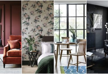 How To Style Living Room With Wallpaper