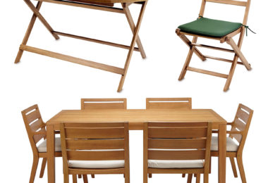 The Perks of Adding Teak Furniture to Your Garden